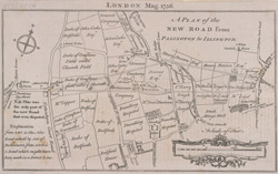 A plan of the New Road from Padington to Islington